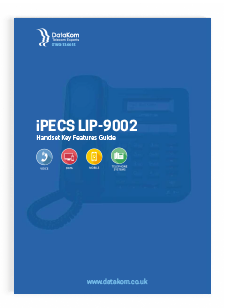 iPECS LIP-9002 Handset User Guide
