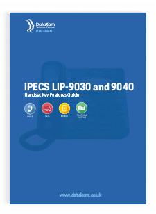 iPECS LIP-9030/40 Handset User Guide