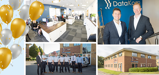 Friday 6th April marks 11 years in business for DataKom.