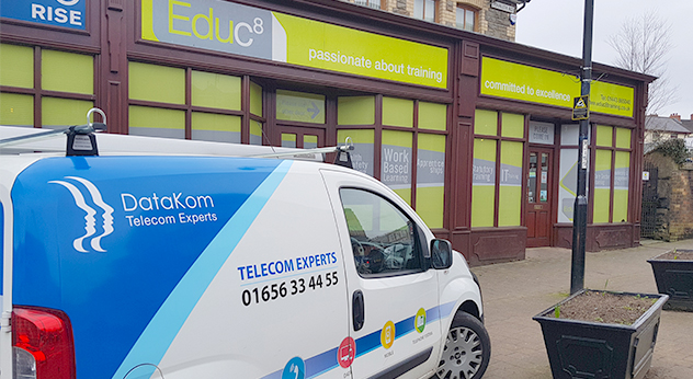 DataKom is pleased to welcome new customer, Educ8 following a cloud-based phone system installation across three sites
