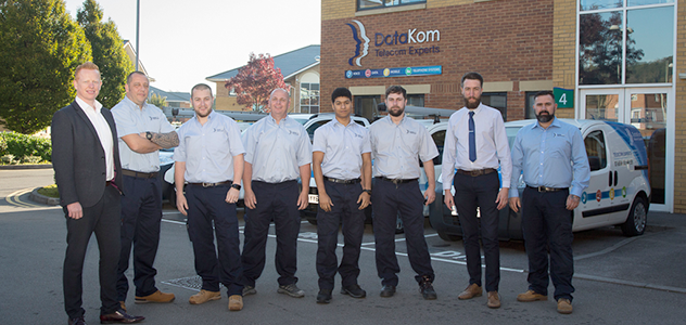 DataKom is pleased to announce that four members of its Technical Department have achieved advanced qualifications.
